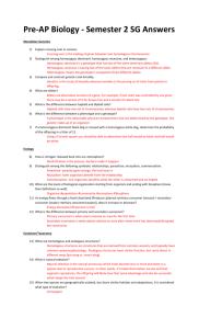 genetics problems worksheet (answers)