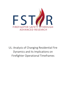 UL: Analysis of Changing Residential Fire Dynamics and