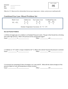 combined gas law worksheet. Black Bedroom Furniture Sets. Home Design Ideas