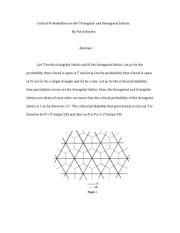 Critical Probabilities on the Triangular and Hexagonal Lattices