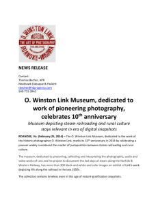 O. Winston Link Museum, dedicated to work of