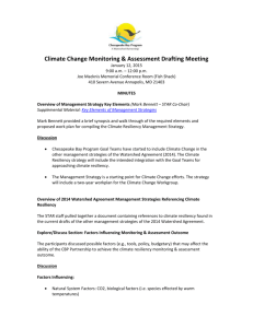 Joint Meeting of the Modeling Subcommittee and Sediment Workgroup