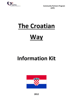 The Croatian Way