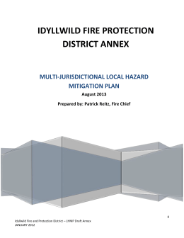 multi-jurisdictional local hazard mitigation plan