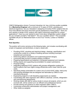 View Job Details - CIMCO Refrigeration