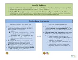 Process Overview - The Early Childhood Technical Assistance Center