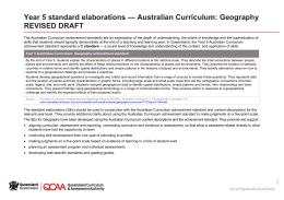 Year 5 Geography standard elaborations (DOCX, 108 kB )
