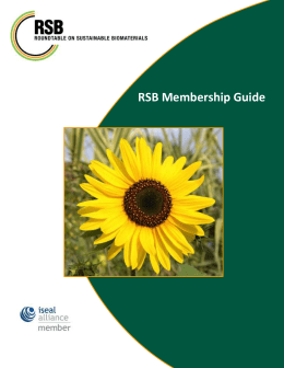 Membership Guide and Application
