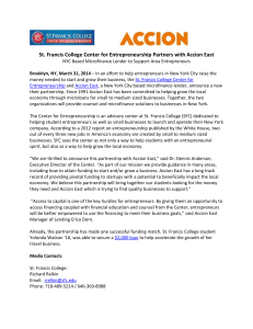 partnership with Accion East