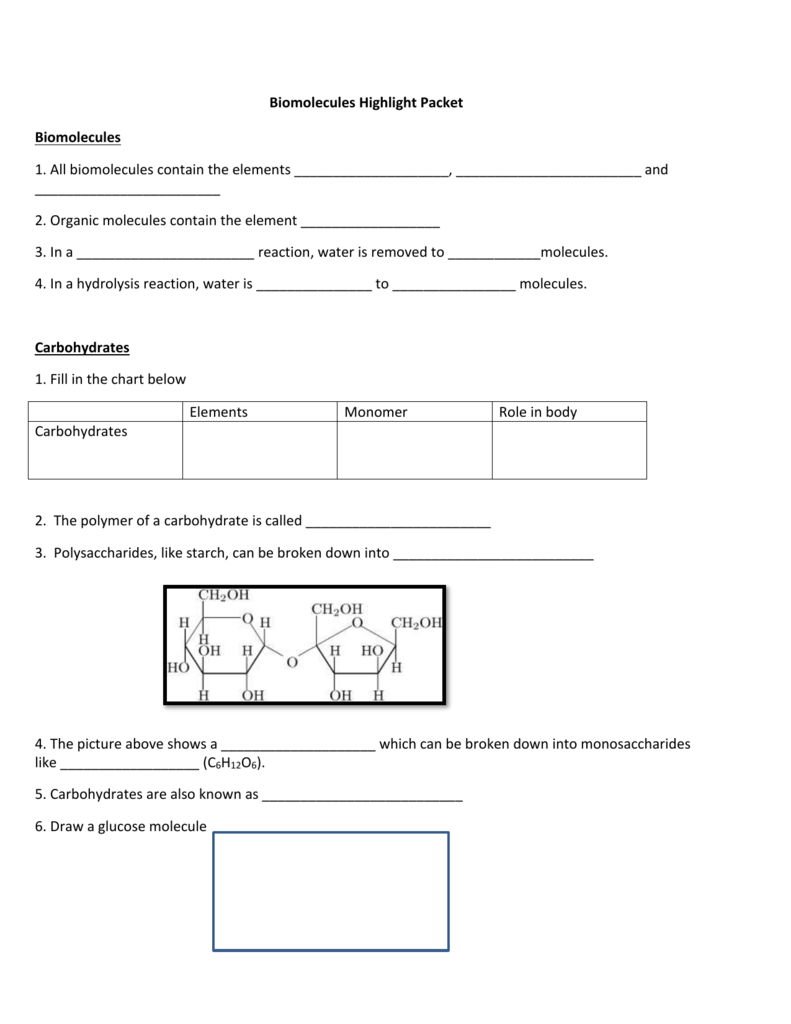 worksheet Biomolecules Worksheet Answers 006880406 1 c93276bcfc178126dfaf362fa60de87d png