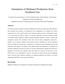 literature survey for the synthesis of