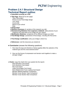 2.4.1.Technical Report outline