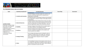 Program Outcomes Planning Template Example