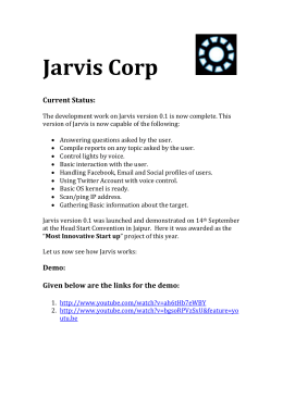 What is Jarvis?