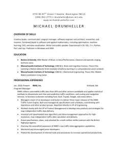 overview of skills - Michael Drumheller`s