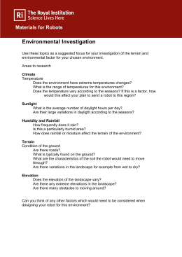 Environmental Investigation