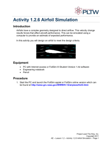 A 1.2.6 Airfoil Simulation