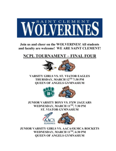 ncpl tournament – final four