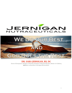 Healthy Coffee Mix - Jernigan Nutraceuticals