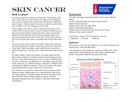 Reading: Skin Cancer