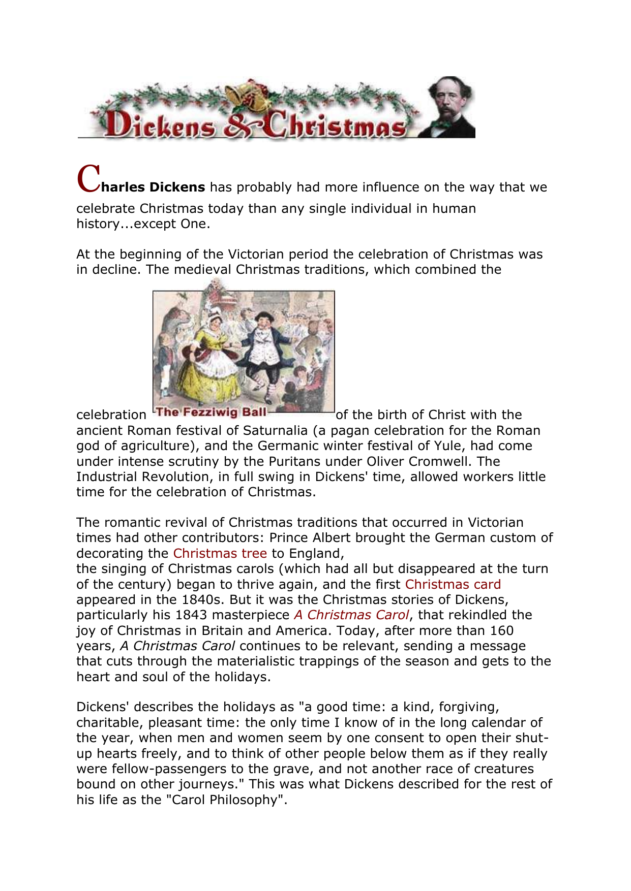 Christmas History In English.A Christmas Carol Overview English Units 3 4 Bch
