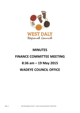 19th_may_finance_committee_meeting_minutes