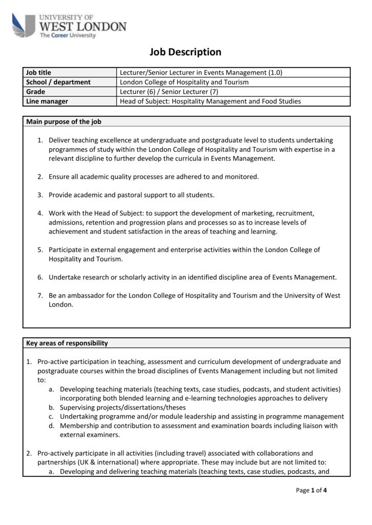 event management case studies for students