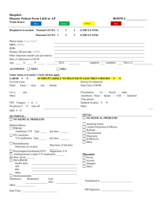 Generic transfer form