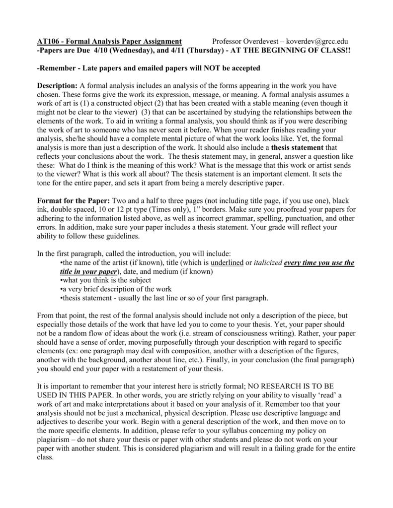 An essay about high school life