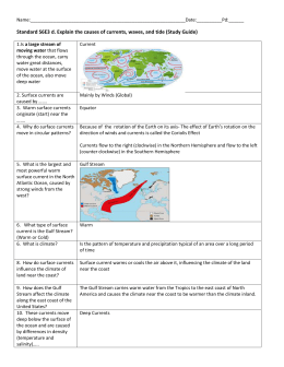Hydrology Unit-Study Guide Part 2 2015