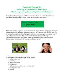 March 2014 Wellness Newsletter - Crawford County R