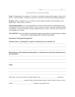 great expectations essay chapter 1 and 39 Great expectations essay  great expectation art essay – artscolumbia great expectations chapter eight in  uk essays dickens 39 great expectations is one.