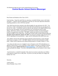 Central Bucks School District Messenger