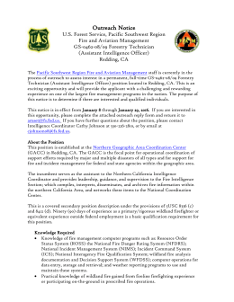 Forestry Tech - California Licensed Foresters Association