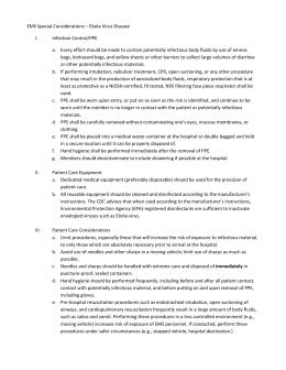 Bloodborne pathogens information for Bloodborne pathogens policy template