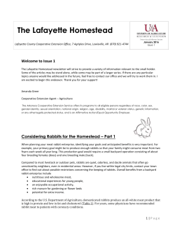 Lafayette Co Horticulture Newsletter February 2015