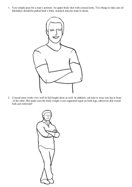 Male Poses – Booklet