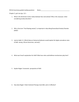 PSY212 Gummow guided reading questions