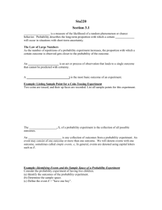 Section 3.1Handout for PPT