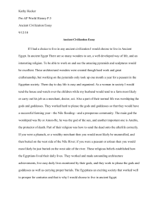 Hecker, Kathy Ancient Civilization Essay