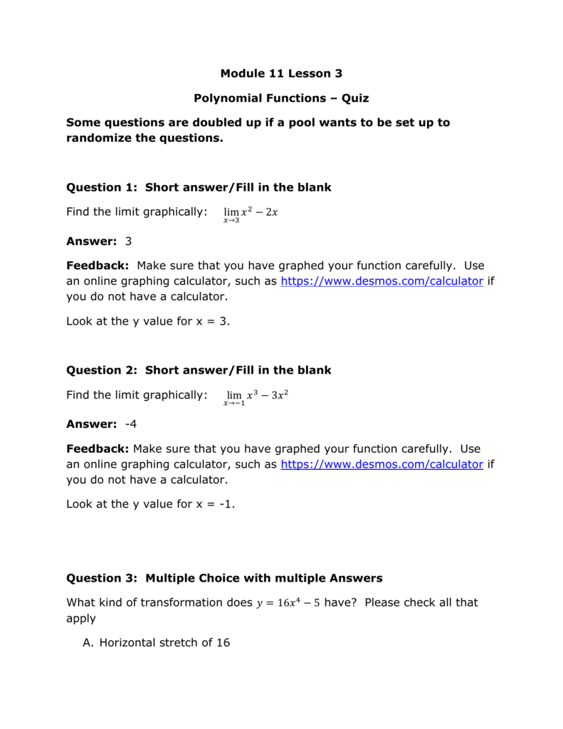 Module 11 Solving Linear Equations Answer Key - Tessshebaylo