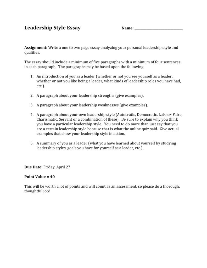 5 Page Essay On Leadership College Vs High School Essay Compare 006906280 1  F5022ff1710b17039575e2eaa097e503 5 Page