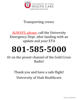 1-877-236-4828 - University of Utah Health Care