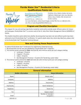 Points - Southwest Florida Water Management District