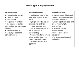 inquiry questions - ccbmyp15-16