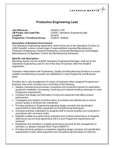 Production Engineering Lead