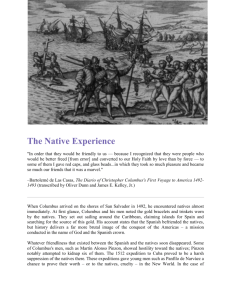 The Native Experience - Social Studies Leadership Content Network