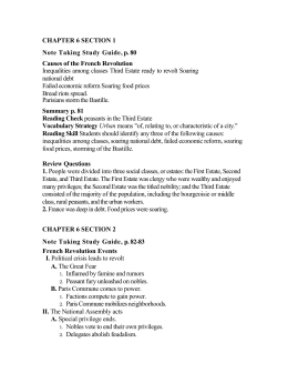 CHAPTER 6 SECTION 2 Note Taking Study Guide, p. 82