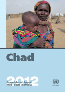 Mid-Year Review of the Consolidated Appeal for Chad 2012 (Word)