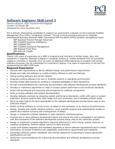 Software Engineer Skill Level 3